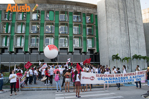 .Dia Nacional de Luta: Forte mobilização.