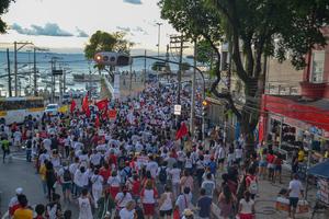 .#grevedasueba Ato 25 de abril.