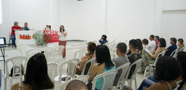A atividade foi conduzida pelos docentes Alexandre Galvão, Iracema Lima e Patrícia Cara